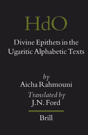Cover Divine Epithets in the Ugaritic Alphabetic Texts