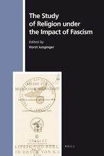 Cover The Study of Religion under the Impact of Fascism