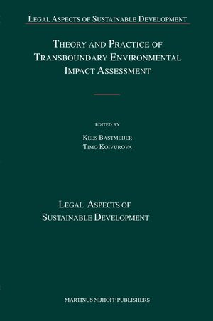 Cover Theory and Practice of Transboundary Environmental Impact Assessment