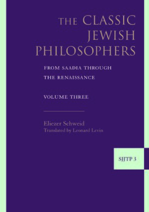 Cover The Classic Jewish Philosophers