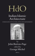 Cover Indian Islamic Architecture