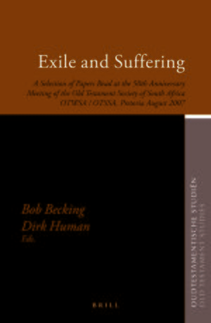 Cover Exile and Suffering
