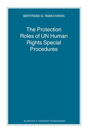 The Protection Roles of UN Human Rights Special Procedures