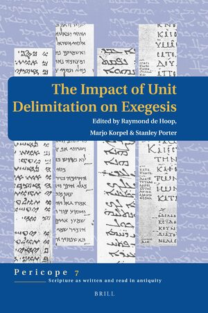Cover The Impact of Unit Delimitation on Exegesis