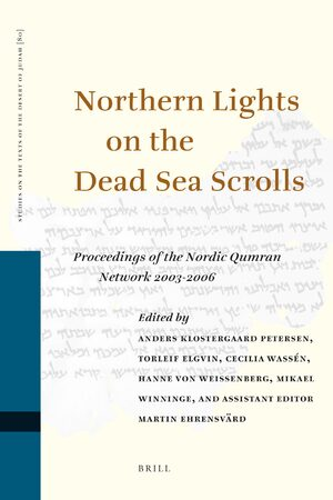 Cover Northern Lights on the Dead Sea Scrolls