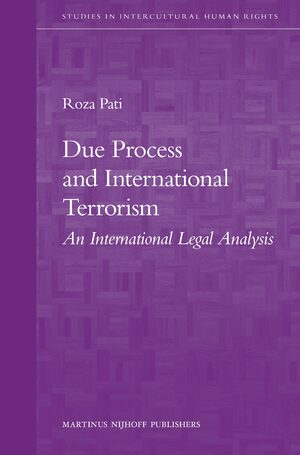 Cover Due Process and International Terrorism