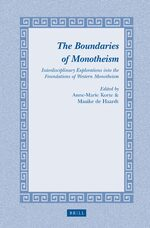 Cover The Boundaries of Monotheism
