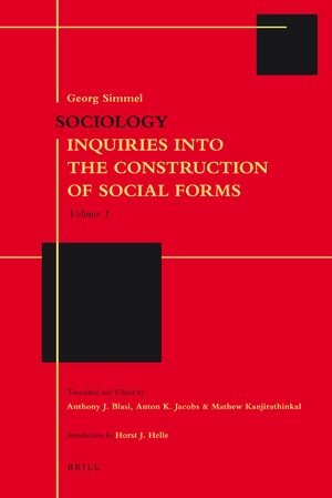 Cover Sociology: Inquiries into the Construction of Social Forms