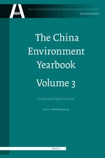 Cover The China Environment Yearbook, Volume 3