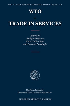Cover WTO - Trade in Services