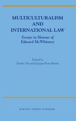 Cover Multiculturalism and International Law
