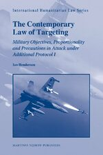 Cover The Contemporary Law of Targeting
