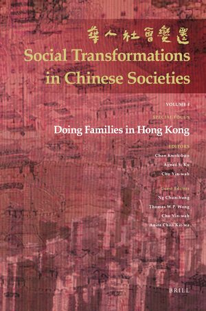 Cover Doing Families in Hong Kong