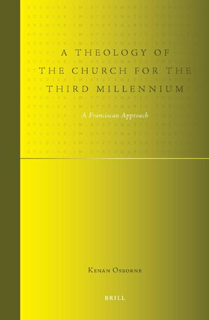 Cover A Theology of the Church for the Third Millennium