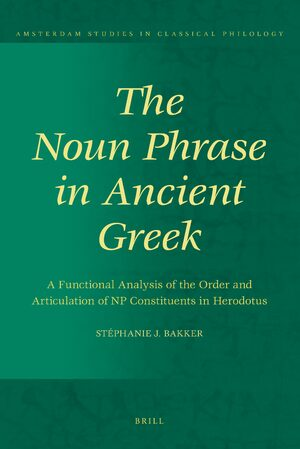 Cover The Noun Phrase in Ancient Greek