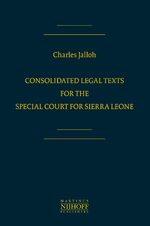 Cover Consolidated Legal Texts for the Special Court for Sierra Leone