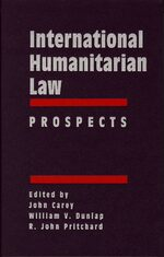 Cover International Humanitarian Law: Prospects