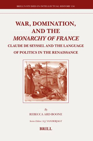 Cover War, Domination, and the <i>Monarchy of France</i>