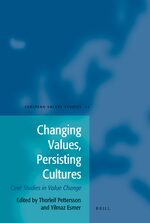 Changing Values, Persisting Cultures