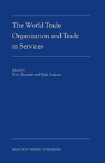 Cover The World Trade Organization and Trade in Services