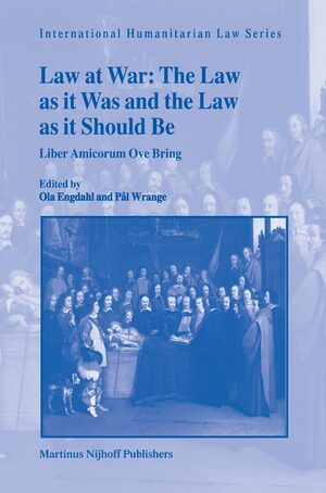 Cover Law at War: The Law as it Was and the Law as it Should Be