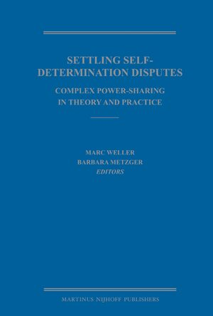 Cover Settling Self-Determination Disputes