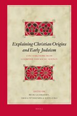 Cover Explaining Christian Origins and Early Judaism