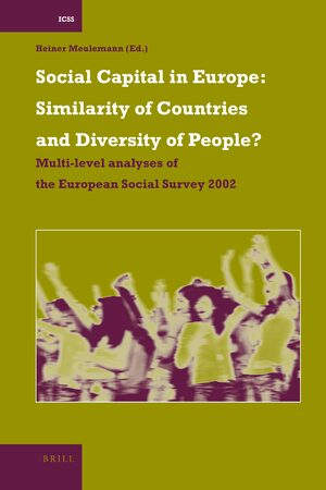 Cover Social Capital in Europe: Similarity of Countries and Diversity of People?