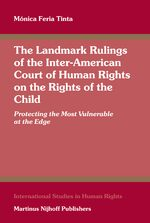 Cover The Landmark Rulings of the Inter-American Court of Human Rights on the Rights of the Child