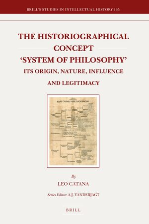 Cover The Historiographical Concept 'System of Philosophy'