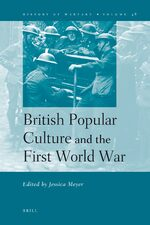Cover British Popular Culture and the First World War