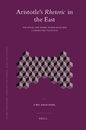 Cover Aristotle's <i>Rhetoric</i> in the East