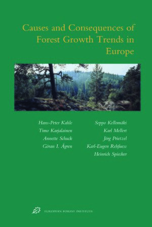 causes and consequences of forest growth trends in europe results