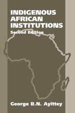Cover Indigenous African Institutions