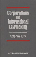 Cover Corporations and International Lawmaking