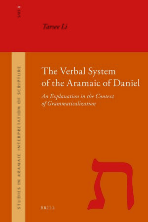 Cover The Verbal System of the Aramaic of Daniel