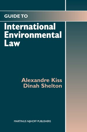 Cover Guide to International Environmental Law