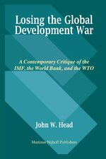 Cover Losing the Global Development War