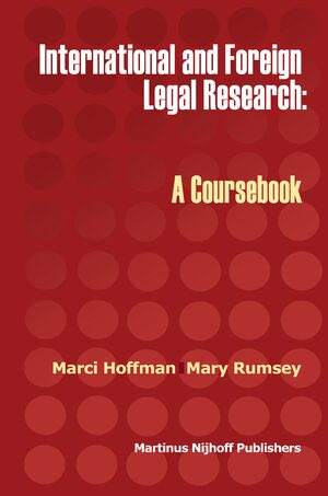 Cover International and Foreign Legal Research