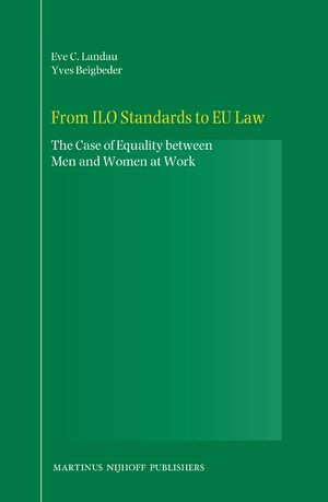 Cover From ILO Standards to EU Law