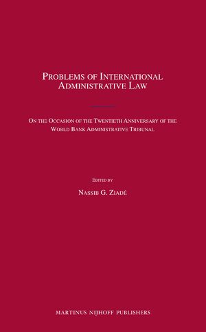 Cover Problems of International Administrative Law