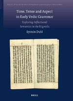 Cover Time, Tense and Aspect in Early Vedic Grammar