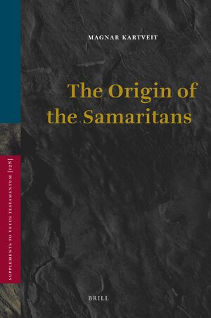 Cover The Origin of the Samaritans