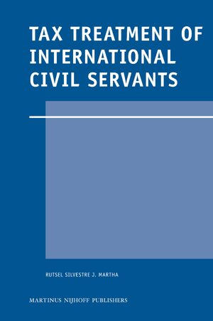 Cover Tax Treatment of International Civil Servants