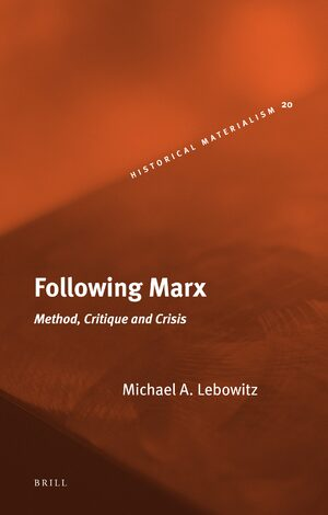 Cover Following Marx