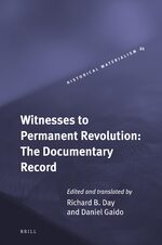 Cover Witnesses to Permanent Revolution: The Documentary Record
