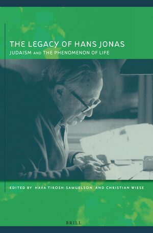 Cover The Legacy of Hans Jonas