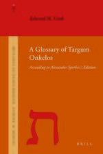 Cover A Glossary of Targum Onkelos