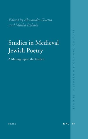 Cover Studies in Medieval Jewish Poetry