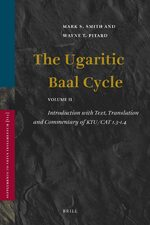 Cover The Ugaritic Baal Cycle